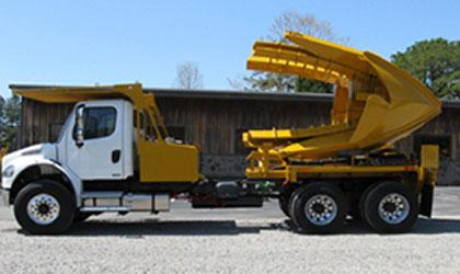 """90 Inch Tree Spade - 90"""" Truck Mounted Tree Spade"""